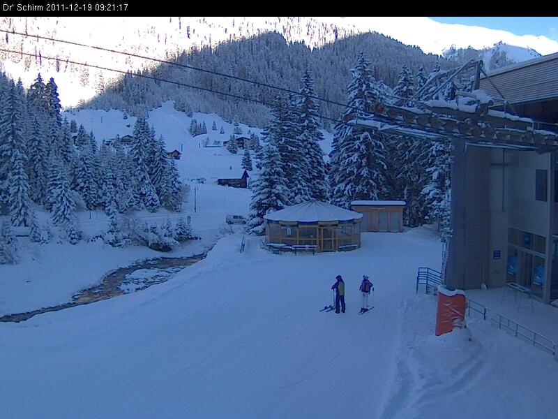 Webcam de la Estación de Esquí de Montafon
